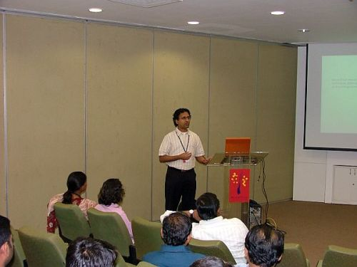 Param\'s talk at MindTree